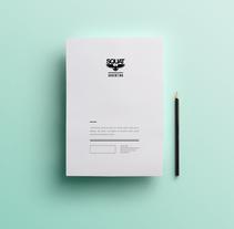 Logotype fashion brand and magazine. A Design project by Marina L. Rodil Garamond         - 14.12.2012