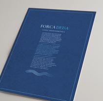 Forcadella identidad + Carta. Um projeto de Design e Fotografia de Tomás Castro         - 20.11.2012