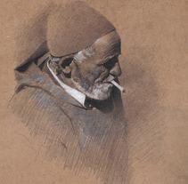 DIBUJOS A LAPIZ SOBRE TABLA. Un proyecto de Ilustración de javier  domenech - 29-11-2012