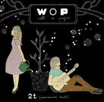 Diseño de álbum. WOP.. Un proyecto de Ilustración de Estibaliz Hernández de Miguel - 02-12-2012