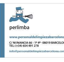 Logo & Business Card - Perlimba. Un proyecto de Diseño e Ilustración de Domnina VS         - 14.12.2012