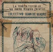 """""""La insólita reunión de los nueve Ricardo Zacarías"""". A Design&Illustration project by Javier Jubera García - 01.10.2013"""