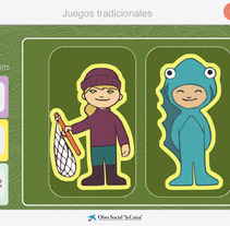 Juegos tradicionales. Un proyecto de Ilustración de Olga Carmona Peral - 29-01-2013