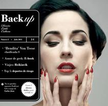 Back Up Magazine. A Design project by Rafa Sánchez Gil         - 30.01.2013