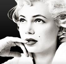 Mi semana com Marilyn. A Design, Advertising, Film, Video, TV, and UI / UX project by Marc  Borràs         - 12.02.2013
