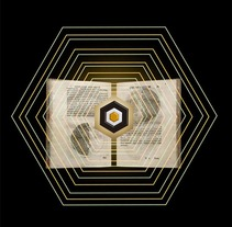 La Biblioteca de babel. Um projeto de Design de Blanca Enrich         - 04.03.2013