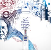 Martin Miller´s Gin. Um projeto de Ilustração de Eduardo Bertone         - 04.03.2013