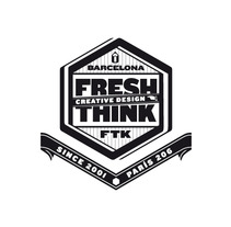 Freshthink - logotype. A Advertising, Design&Illustration project by david sánchez cobos - Mar 07 2013 04:51 PM