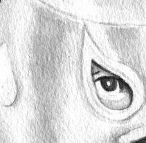 Retrato (alguien muy famoso). Un proyecto de Ilustración de Isa Sandoval - Martes, 12 de marzo de 2013 22:51:51 +0100