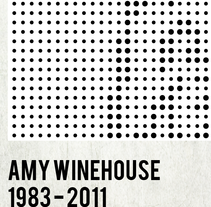 Amy Winehouse DOTS. A Design&Illustration project by Quim  Mirabet López         - 23.03.2013