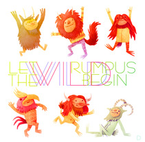 Let The Wild Rumpus Begin!. Un proyecto de Ilustración de David Fernández Huerta - Martes, 02 de abril de 2013 14:44:20 +0200