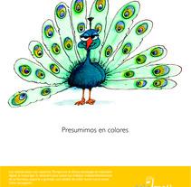 TeleMail Folleto. Un proyecto de Diseño e Ilustración de Isabel Martín - Miércoles, 03 de abril de 2013 01:44:09 +0200