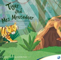 Tiger and the Mousedeer. A Illustration project by Malena y Esther          - 08.04.2013
