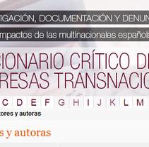 Omal Diccionario. Um projeto de Design, Web design e Desenvolvimento Web de Laura Bustos         - 07.04.2013