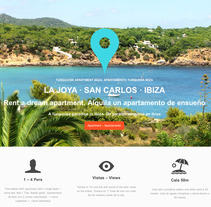 TURQUOISE APARTMENT IBIZA. A Design, Photograph, UI / UX&IT project by Melo  - 15-04-2013