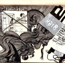 sombra aqui y sombra alla. Um projeto de Ilustração de raquel arriola caamaño         - 15.04.2010