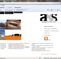 Web arquitectura proyectos. A Software Development&IT project by Eva  - Apr 26 2013 12:58 PM