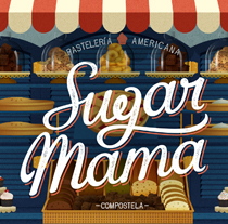 Sugar Mama. A Design&Illustration project by David Sierra Martínez - 08-05-2013
