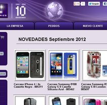 CoolAccesorios - Tienda Online. A Design, and Software Development project by Daniel Antonio Zurita         - 22.05.2013