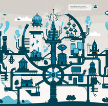 FantasTIC City. A Design&Illustration project by Mᴧuco  Sosᴧ - 30-05-2013