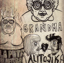 Gargots. A Design&Illustration project by Isaac López Virgili (ISAC)         - 28.05.2013