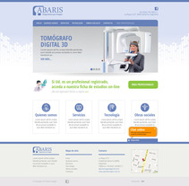 ABARIS - Maquetado Responsive. A Design, Software Development&IT project by roberto jaton - 16-06-2013
