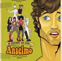 Anselmo. Un proyecto de Ilustración de Fernando Fernández Torres - 21-06-2013