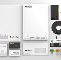 Identidad Certicalen. A Design project by Fina Marin Sánchez         - 24.06.2013