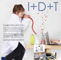 Campaña I+D+T. Un proyecto de Ilustración, Publicidad y Diseño de Carlos Cano Santos - Miércoles, 26 de junio de 2013 13:41:52 +0200