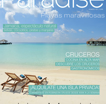 Revista Paradise. A Design, and Advertising project by Ana García Alonso         - 26.06.2013