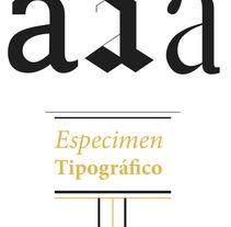 Dosier tipografíco. Un proyecto de Diseño de Patricia Crego del Val - 26-06-2013