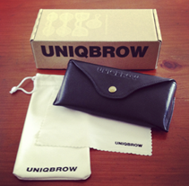 UNIQBROW Branding. Un proyecto de Diseño y Publicidad de Lavitoverda  - 05-07-2013