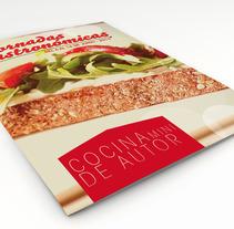 Jornadas Gastronómicas Cocina Mini de Autor. Un proyecto de Diseño y Publicidad de David Rodríguez García         - 09.07.2013