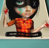 Desintegrate. Un proyecto de Ilustración de Sergio Millan         - 04.09.2013