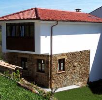 Rehabilitación de Vivienda en Cabranes/Asturias. Un proyecto de Diseño, Instalaciones, Arquitectura, Arquitectura interior y Diseño de interiores de Jesús Sotelo Fernández - 06-09-2007