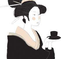 Tea Gesishas. Un proyecto de Diseño e Ilustración de Laura Minimalia - 28-09-2013