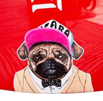 Cool Dog. Un proyecto de Ilustración de Cristina  Mata Martinez - 01-10-2013