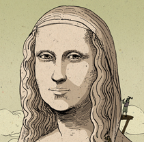 La monumentalidad de un cuadro: . A Illustration project by Nicolás Castell         - 08.10.2013