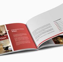 Dossier comercial. . Un proyecto de Diseño de Enrique  Pereira Vázquez - Miércoles, 09 de octubre de 2013 18:53:45 +0200