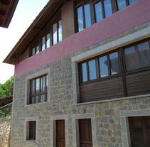 Apartamentos Turísticos en Nieda (Cangas de Onís). Un proyecto de Diseño, Instalaciones, Arquitectura, Arquitectura interior y Diseño de interiores de Jesús Sotelo Fernández - 12-10-2005