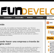 Web FunDevelop. Un proyecto de Desarrollo de software e Informática de Francisco Pardo         - 14.10.2013