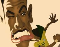 Neymar Jr. A Design&Illustration project by Carlos Lezama McCarthy         - 20.10.2013