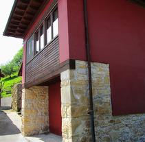 Vivienda Unifamiliar en Nieda (Cangas de Onís). Un proyecto de Diseño, Instalaciones, Arquitectura, Arquitectura interior y Diseño de interiores de Jesús Sotelo Fernández - 26-10-2005