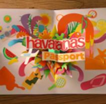 HAVAIANAS PASSPORT. Un proyecto de Diseño, Motion Graphics y 3D de noelia lozano cardanha - Lunes, 04 de noviembre de 2013 16:31:17 +0100