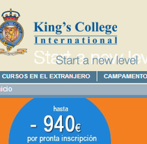King's College International. Un proyecto de Desarrollo de software de Jorge Romero Guijarro - 20-11-2013