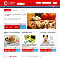 Ventajas Vodafone. Un proyecto de Publicidad y Desarrollo de software de Javier Fernández Molina - Domingo, 01 de septiembre de 2013 00:00:00 +0200