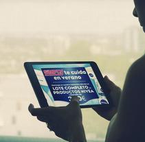 Nivea™ & Simply™ Market Facebook Quiz Promotion. Um projeto de Publicidade, Desenvolvimento de software e UI / UX de Fran Fernández         - 25.07.2012