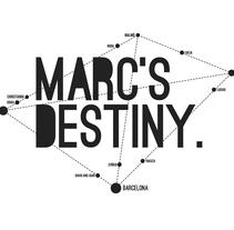 Identidad Marc's Destiny. A Design project by Daniel Rodríguez Feria - Aug 01 2013 12:00 AM