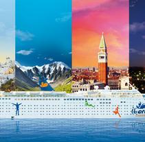 IBERO CRUCEROS. Un proyecto de Diseño, Ilustración y Publicidad de Adalaisa  Soy - Miércoles, 20 de junio de 2012 00:00:00 +0200