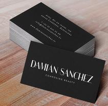 DAMIÁN SÁNCHEZ. Un proyecto de Diseño, Ilustración y Publicidad de Adalaisa  Soy - Jueves, 04 de octubre de 2012 00:00:00 +0200